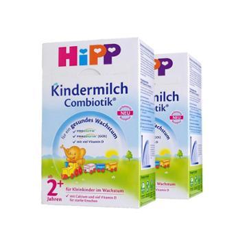 【2盒装】HiPP喜宝有机益生菌奶粉2+段600克/盒(2-3岁)