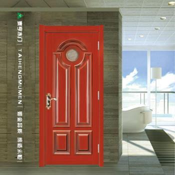 泰亨厂家直销免漆烤漆原木门复合门室内卧室门房门套装门TY-GTB52