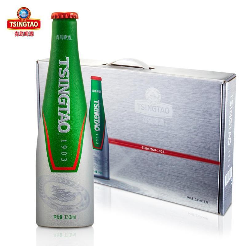 青岛啤酒 炫舞激情礼盒 330ml*6瓶