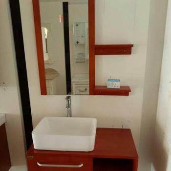 宏浪牌落地卫浴柜卫生间欧式卫浴柜洗脸盆洁具组合