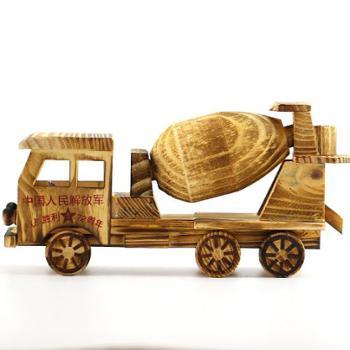 丽康儿童水泥搅拌车模型玩具