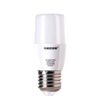 长虹红太阳LED灯泡E27螺口暖黄白15W可调光调色节能智能照明球泡【单只装】