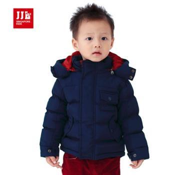 季季乐童装婴童 时尚百搭款婴童棉衣外套 PDA4020