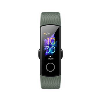 荣耀手环5NFC版智能运动幻彩屏触控表盘市场睡眠、血氧检测实时心率50米防水+泳姿识别