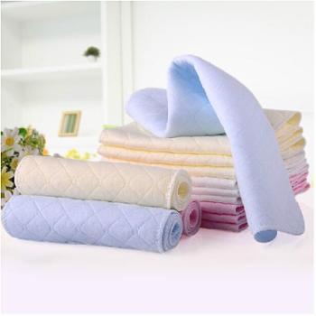 阳光菊婴儿尿布纯棉布可洗秋冬尿布全棉宝宝尿片10条
