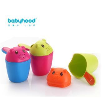 世纪宝贝 婴儿花洒浴勺水勺 宝宝洗澡沐浴洗头杯洗发杯戏水水瓢