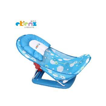 宜贝儿折叠式婴儿洗澡椅宝宝洗澡网沐浴网沐浴架