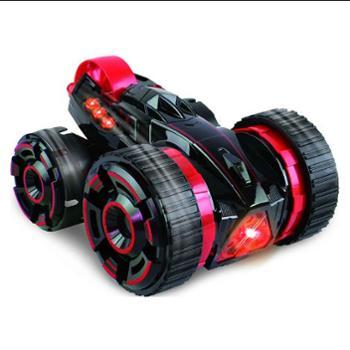 美奇宝超大号耐摔可充电动五轮六通遥控翻滚翻斗特技车汽车男孩儿童玩具