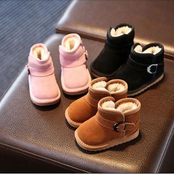 班米奴 秋冬季小宝宝鞋婴儿鞋学步鞋0-1岁2-3男女童鞋棉鞋幼儿鞋子雪地靴