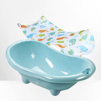 好孩子婴儿浴盆澡盆宝宝洗澡盆新生儿浴盆儿童坐卧两用大号加厚η