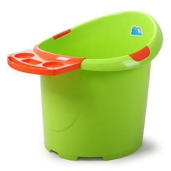 迈仑超大号婴儿浴盆宝宝洗澡盆加厚儿童洗澡桶泡澡桶沐浴桶保温可坐