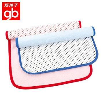 好孩子隔尿垫防水棉可洗 婴儿吸水防尿隔尿巾2条装 新生儿童用品