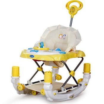 宝宝好 婴幼儿多功能音乐学步车助步车学行车儿童推车