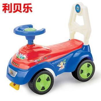 利贝乐婴儿学步车儿童踏行车宝宝可坐玩具四轮滑行车溜溜车猪仔车