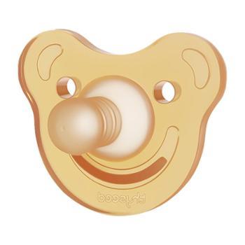 世喜宝宝全硅胶婴儿安抚奶嘴0-6-18个月超软新生儿安慰奶嘴安睡型