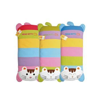 婴儿枕头儿童枕头0-1-3-6岁幼儿园男女宝宝卡通荞麦枕四季通用棉