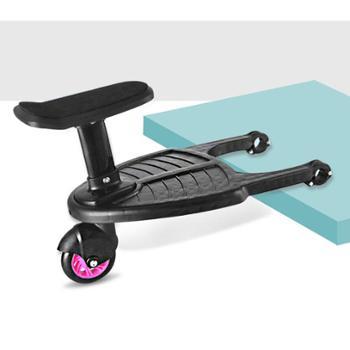 二胎推车神器婴儿手推车出行遛娃车辅助踏板车儿童拖挂加座小尾车