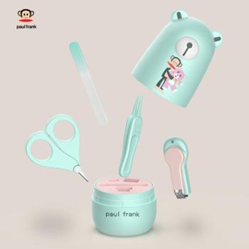大嘴猴婴儿指甲剪防夹肉套装宝宝指甲刀婴幼儿专用儿童安全剪刀