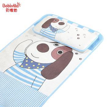 bebivita婴儿凉席冰丝新生儿宝宝婴儿床夏季儿童幼儿园凉席透气
