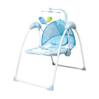 婴儿电动摇摇椅安抚睡觉宝宝摇篮哄娃神器新生儿童躺椅哄睡摇摇床