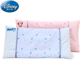 迪士尼宝宝婴儿幼儿园儿童小孩0-1-3-6岁枕头四季棉枕头荞麦枕