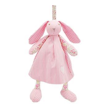法国婴儿安抚玩具可入口可咬布偶娃娃宝宝啃咬兔子毛绒玩偶安抚巾