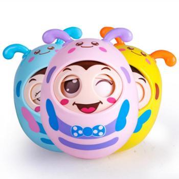 新生儿点头牙胶宝宝玩具不倒翁大号益智婴儿男孩女孩3-6-9-12个月