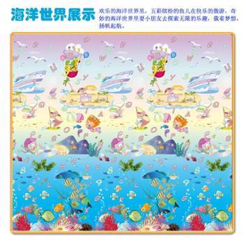 婴儿童宝宝爬行垫加厚2cm 防滑游戏防潮垫泡沫地垫客厅环保爬爬垫