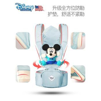 迪士尼婴儿背带 宝宝腰凳 多功能四季通用坐凳前抱式轻便抱娃神器