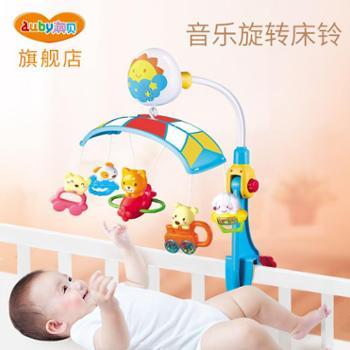 澳贝迪迪兔床铃新生婴儿床铃玩具音乐旋转婴儿0-6个月哄睡床挂铃