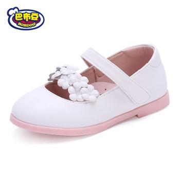 Bobdog/巴布豆童鞋女童宝宝鞋新款公主小童女鞋学步鞋儿童婴儿软底鞋