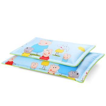 茶园氧吧夏凉小孩卡通儿童枕幼儿园枕头男女宝宝婴儿枕茶叶夏季