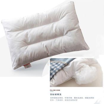 琴岛全棉可水洗儿童枕头幼儿园宝宝小孩枕芯学生柔软午睡枕