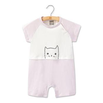 Goodbaby/好孩子婴儿衣服夏薄款婴童连体衣男女宝宝短袖连体衣婴童哈衣爬服
