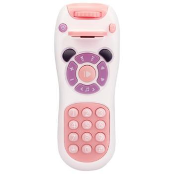 甜逗 婴儿玩具益智男女孩宝宝玩具手机仿真电话儿童0-1-3岁音乐遥控器