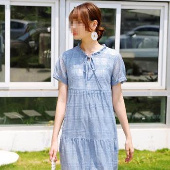 拼出完美 哺乳衣服夏季外出辣妈款产后母乳喂奶衣 夏天孕妇连衣裙