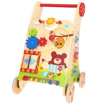福孩儿 多功能游戏手推车益智玩具婴儿童宝宝早教学步男女孩礼物