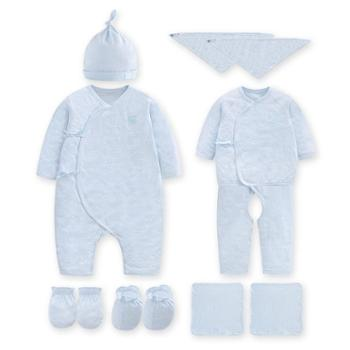 Goodbaby/好孩子 新生儿婴儿男女儿童夏装长袖哈衣礼盒十件套装
