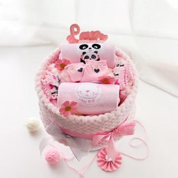 modomoma 新生儿用品婴儿礼盒宝宝春季套装加绒连体衣初生儿春装满月送礼