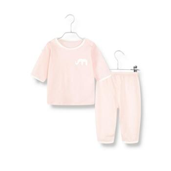 棉棉柔 儿童睡衣春秋薄款婴儿宝宝内衣套装纯棉男童女童家居服