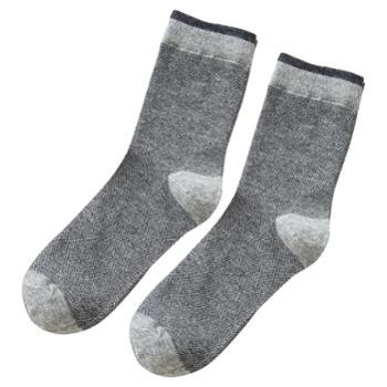 CARAMELLA 袜子男秋冬中筒吸汗运动厚保暖男士潮袜