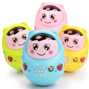 大号不倒翁带声音点头娃娃 宝宝益智儿童6-9-12个月0-3岁婴儿玩具