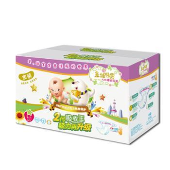 香港童话世界婴儿纸尿裤L码超薄透气尿不湿 男女宝宝纸尿裤