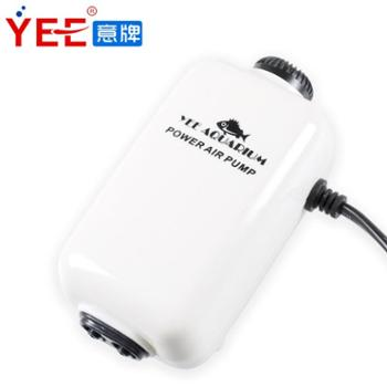 YEE 静音鱼缸增氧泵充氧泵养鱼用氧气泵双孔鱼缸氧气泵增氧机 包邮 M0