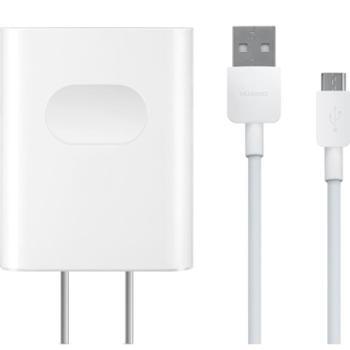 Huawei/华为9V/5V 2A快充电源适配器带线充电器充电头 带Type-C数据线 白色