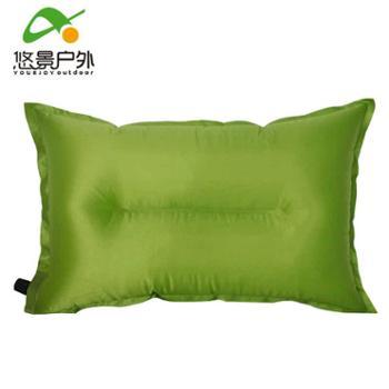 悠景户外枕头 自动充气枕头 旅行枕 自动充气枕头 睡枕