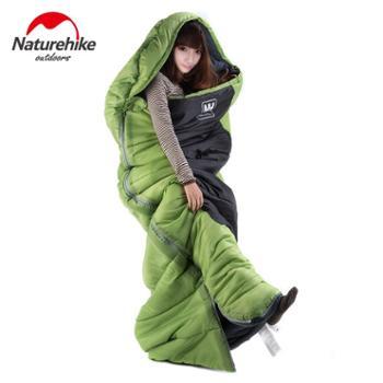 NH户外睡袋成人秋冬季帐篷露营加厚保暖纯棉用品单人办公室午休