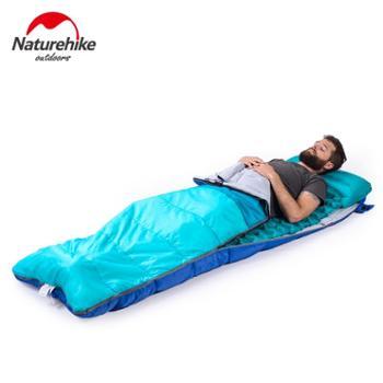 NH挪客超轻蛋槽手压单人按压充气垫户外帐篷睡垫露营地垫防潮垫