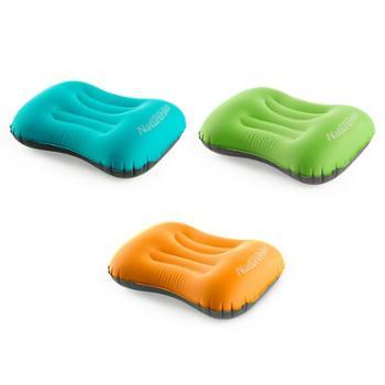 NH挪客按压充气枕头便携坐车户外旅行午睡午休靠枕护颈枕
