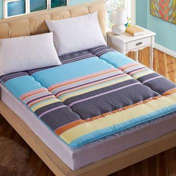 榻榻米床垫 加厚可折叠拆洗学生宿舍床垫90cm1.5单双人床褥子垫被